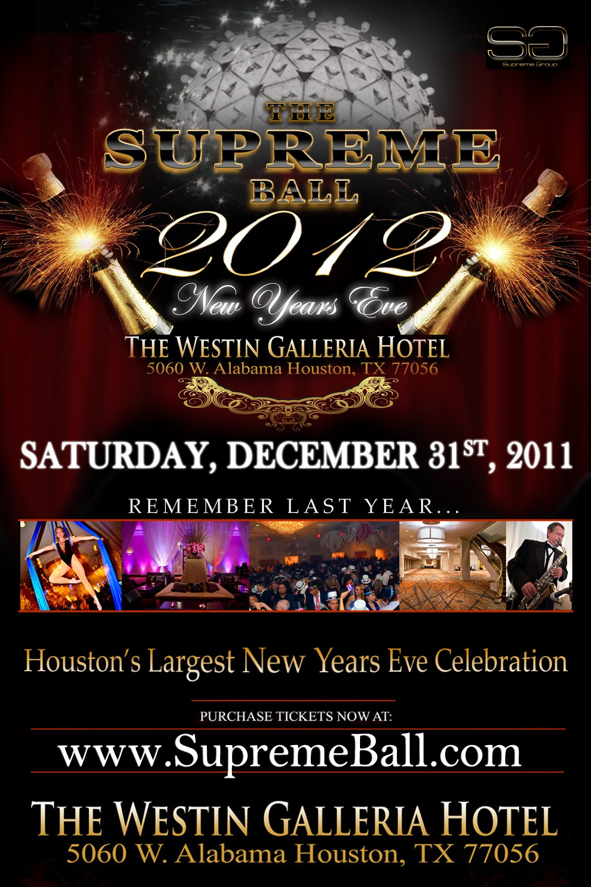 New Years Eve Houston