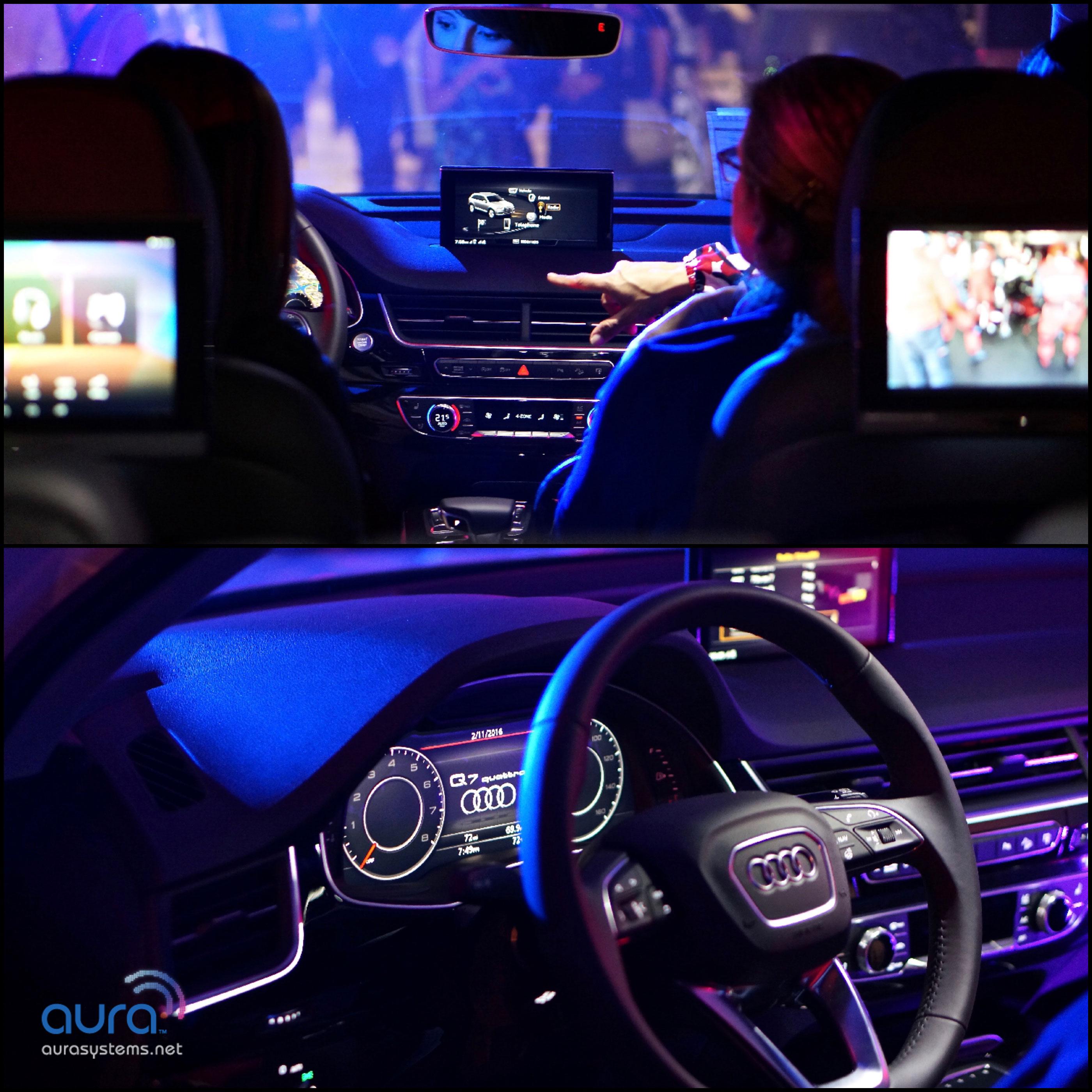 New 2017 Audi Q7 Aura Systems